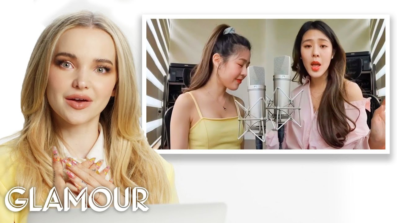 Download Dove Cameron Watches Fan Covers on YouTube - Part 2 | Glamour