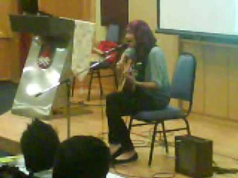 yuna @ uitm s&t - DAN SEBENARNYA live