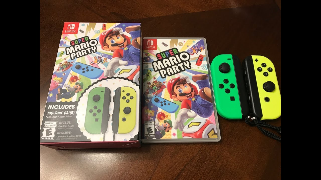 super mario party switch joy