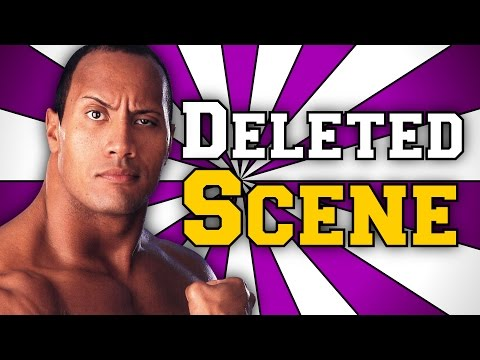 The Rock Saves Eugene DELETED Scene - Wrestling Stories #7