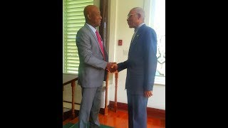 PM Rowley In Guyana For Energy Talks