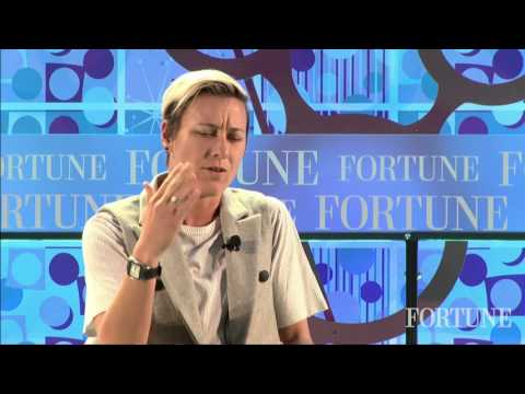Abby Wambach on the Gender Pay Gap: 'Enough is Enough' | Fortune