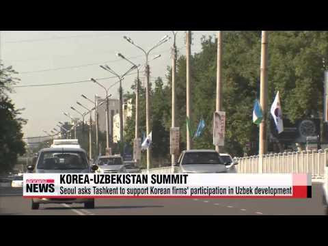 Leaders of Korea, Uzbekistan seek economic cooperation beyond energy
