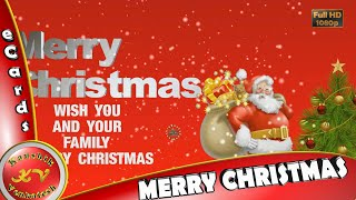Merry Christmas Wishes Whatsapp Status,Video Download,Greetings,Animation,Happy Christmas 2019