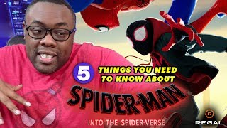 Spider-Man: Into The Spider-Verse: 5 Things You Need to Know with Andre – Regal [HD]