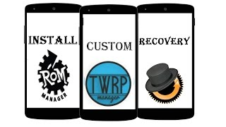 Install Custom Recovery(TWRP/CWM) on any Android without PC in 1minute