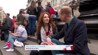 Willemijn Verkaik uit Nuenen straalt in Londen in musical Wicked