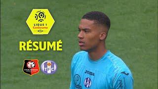 Stade Rennais FC - Toulouse FC ( 2-1 ) - Résumé - (SRFC - TFC) / 2017-18