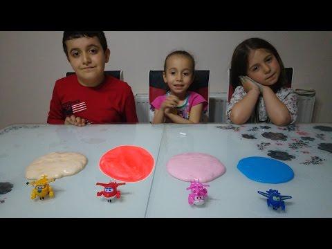 Harika Kanatlar Izle. Harika Kanatlar Oyuncakları Slime Kapışması. Jett, Dizzy, Donnie Ve Jerome