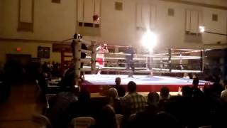 Brent Pavey TKO Victory