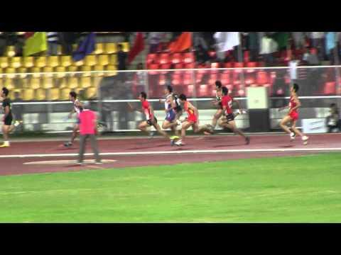asian athletics championships men 4x100mR final