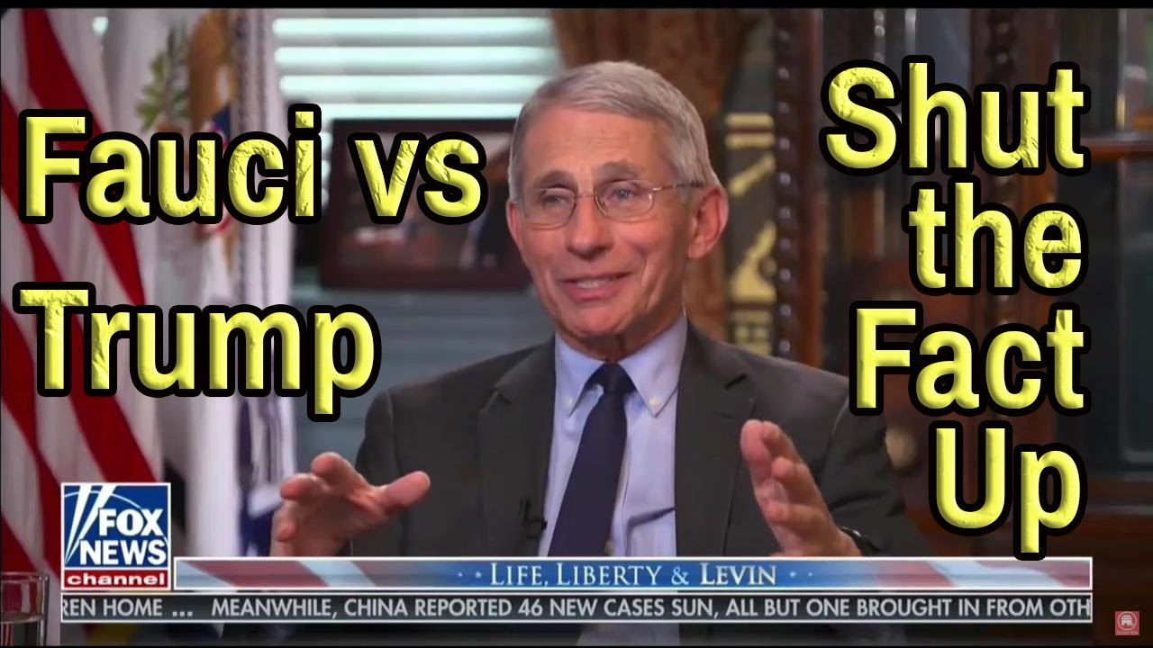 Dr. Fauci Trump Commercial Fact Check. Out of context campaign ad. #ShutTheFactUp