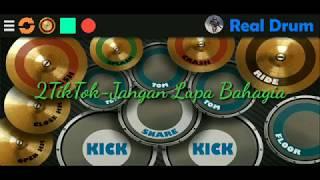 Gambar cover 2TikTok-Jangan Lupa Bahagia   Real Drum Cover by Farid Gunawandi