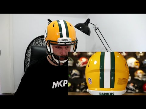 Rugby Player Learns About RIDDELL FOOTBALL HELMETS With GREEN GRIDIRON!
