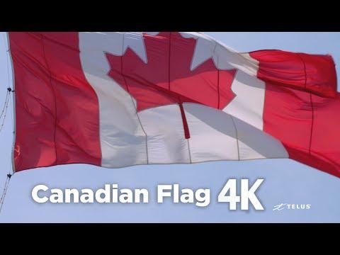 Canadian Flag 4K