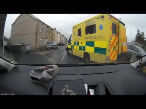 Distressing Dashcam Footage ~ Driver Suffers A Stroke