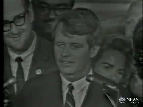 1968 Robert F Kennedy Assassinated Youtube