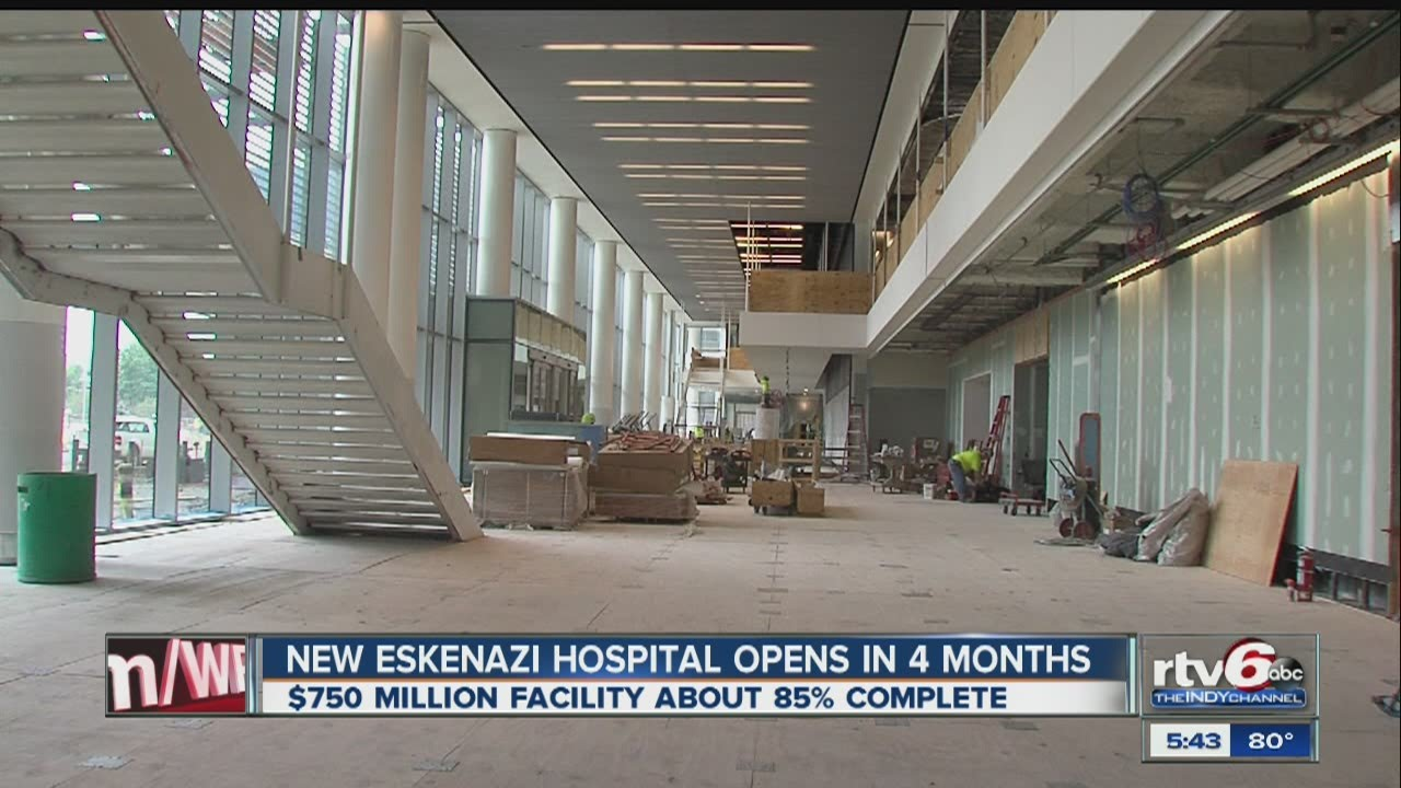 New Eskenazi Hospital To Open In 4 Months Youtube