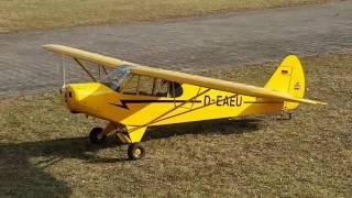 Piper XXL PA 18 scale 13 360 Meter Spannweite ZG 62