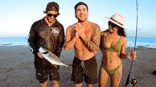 Catch & Cook With Brooke From The Bachelor (Amazing Weather & Marine Life) - Ep 162