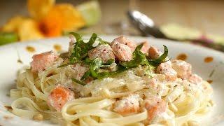 Как приготовить пасту с морепродуктами в сливочном соусе