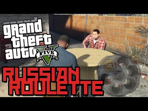 GTA 5 MOD SHOWCASE! - NEW RUSSIAN ROULETTE MINIGAME GAMEPLAY!