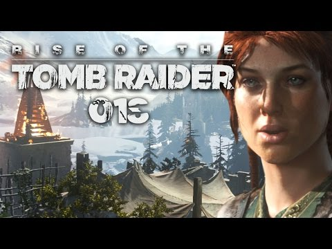 RISE OF THE TOMB RAIDER #018 - Das Tal der Verbliebenen | Let's Play Rise Of The Tomb Raider