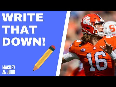 'The Vikings will draft Trevor Lawrence or Justin Fields'