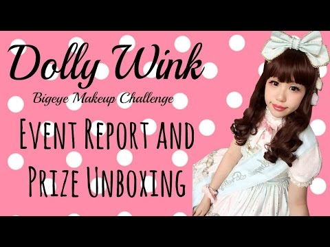 dolly-wink-bigeye-challenge-event-report.-prize-unboxing