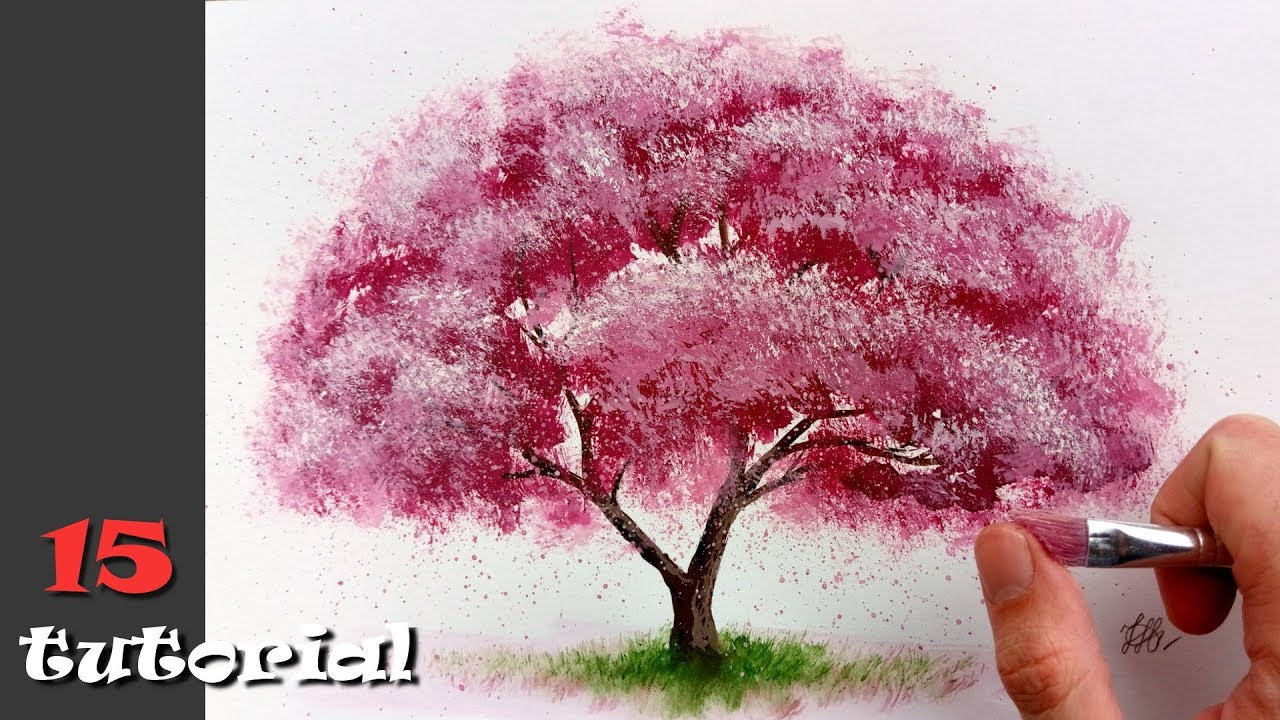 Дерево своими руками рисовать фото 928
