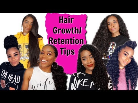 Hair Growth/Length Retention Tips For When Your Hair Feels Stuck | Natural Hair