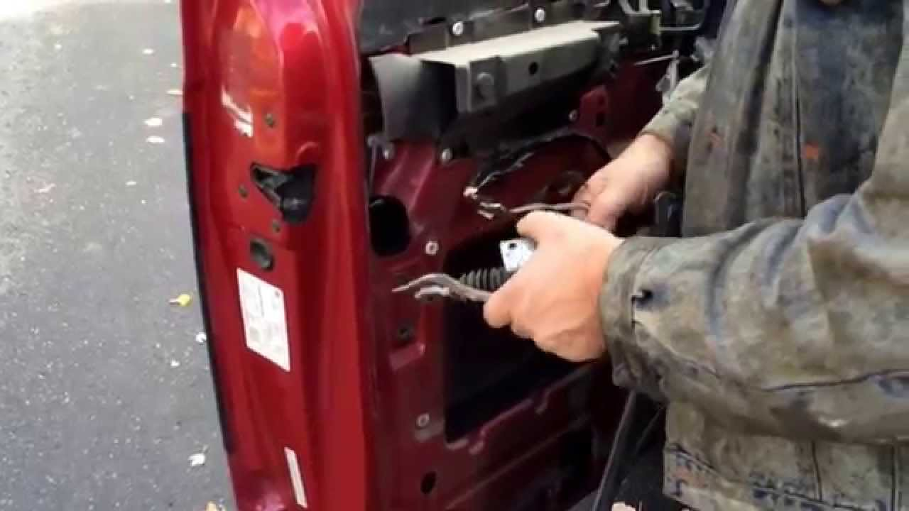 Replace Power Door Lock Actuator Chevy Astro Or Gmc Safari Van Youtube
