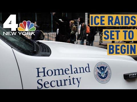ICE Raids on 2,000 Undocumented Immigrant Families Set to Begin Sunday | NBC New York