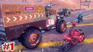 ГОНКИ НА МОТОЦИКЛАХ !!! Road Redemption Симулятор Игры на пк Мультики для мальчиков 1 серия
