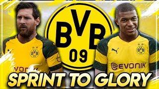 MESSI FÜR 150 MILLIONEN ZU BORUSSIA DORTMUND !! 💥🔥 | FIFA 19: BVB Sprint to Glory