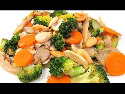 Verduras al vapor como cocinar funnydog tv - Como hacer verduras salteadas ...