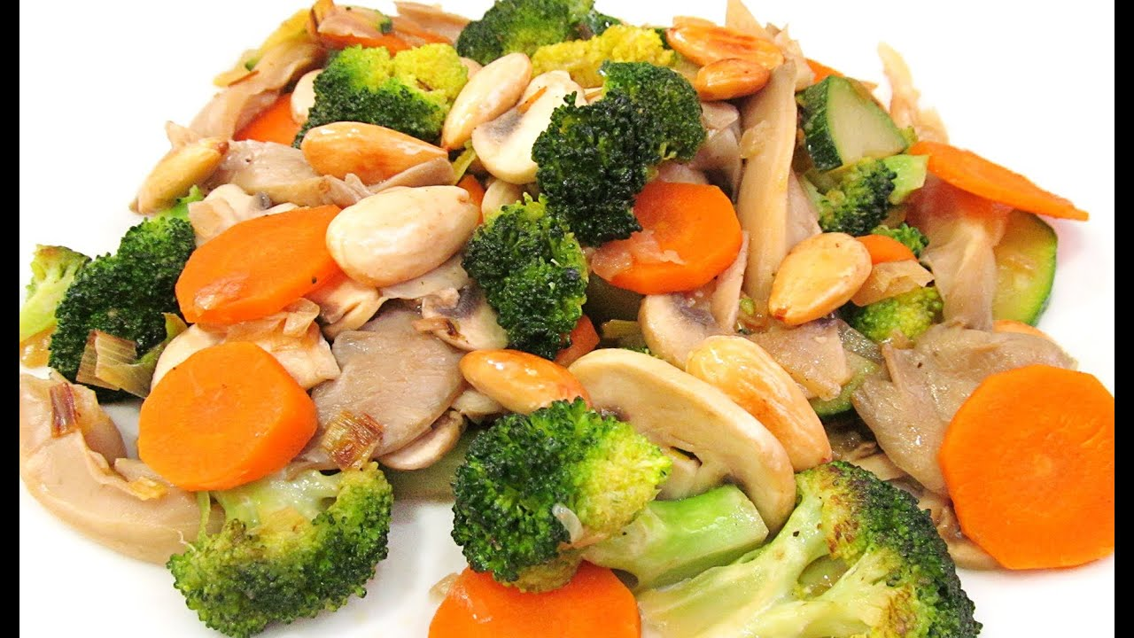 Como hacer verduras salteadas - Hacer menestra de verduras ...