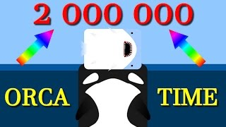 Deeeep.io 2 000 000+ with the last animal || ORCA TIME