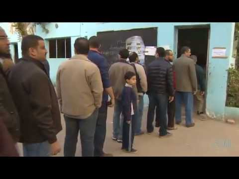 Egyptians Vote On Constitution
