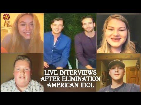 Interviews Harper Grace Trevor Holmes Noah Davis Maddie Zahm & Laine Hardy American Idol 2018