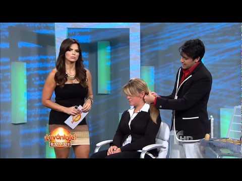 levántate! | peinados para triunfar | telemundo - youtube