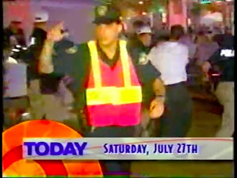'TODAY' Show Open | 7.27.1996: Centennial Olympic Park Bombing