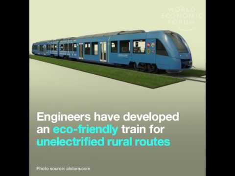 Train which runs from HYDROGEN----MADE IN FRANCE!!!!