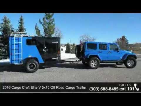 2016 Cargo Craft 5x10 Off Road Trailer! - Colorado Trailers Inc