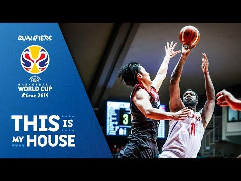 Japan v Philippines - Full Game - FIBA Basketball World Cup 2019 - Asian Qualifiers