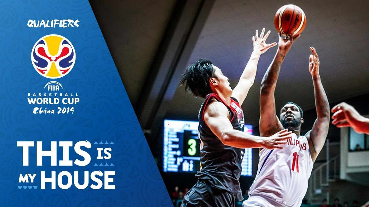 Japan V Philippines Full Game Fiba Basketball World Cup  Asian Qualifiers