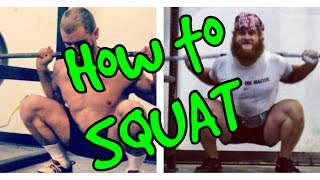 One of Alan Thrall's most viewed videos: Untamed Strength: How To SQUAT - High bar/Low bar
