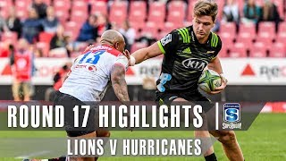 ROUND 17 HIGHLIGHTS: Lions v Hurricanes - 2019