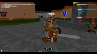 Roblox: spartani!