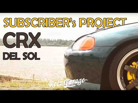 Yvonne's CRX Del Sol - Subscriber's Projects